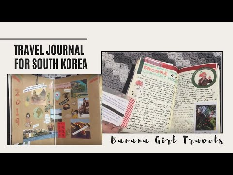 Midori Travel Journal Setup for Life in South Korea
