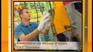 Afpa découvrez le métier d'assembleur de moteur d avion