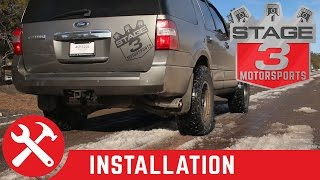 2010-2014 Expedition 5.4L Magnaflow Cat Back Exhaust Install