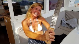 #fishing #bigcatch We are killing it! All TIED Up. Sailing Ocean Fox Ep 64