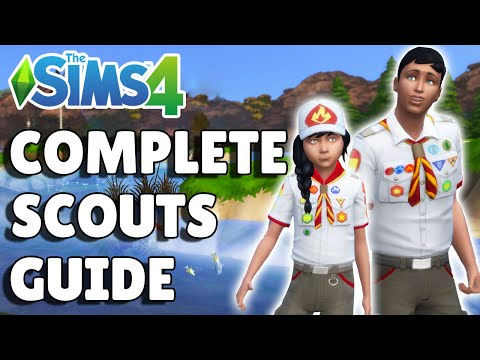 Complete Guide To Scouts   The Sims 4 Seasons  
