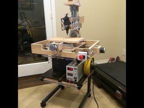 DIY CNC Mill Construction & Testing