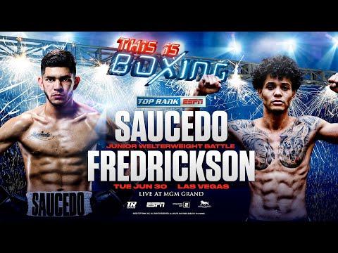 Alex Saucedo vs. Sonny Fredrickson / Алекс Сауседо - Сонни Фредриксон