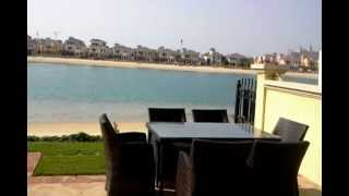 Dubai Palm Jumeirah Villa for holiday rental 4 bedrooms private pool and beach