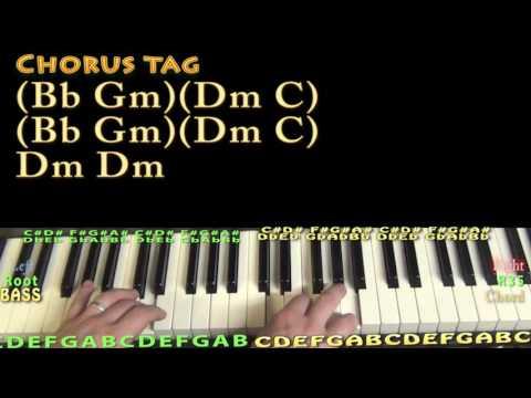Blow Your Mind (Dua Lipa) Piano Lesson Chord Chart