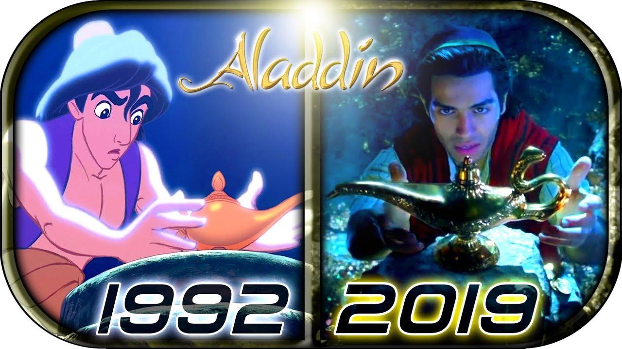 EVOLUTION of ALADDIN in Movies, Cartoons & TV (1917-2019) disney's Aladdin full movie trail