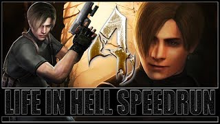 RE4 (HD EDITION) MOD LIFE IN HELL - SPEEDRUN NG+ PROFISSIONAL - EM 3:41:39