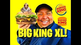 Burger King's® New Big King XL REVIEW! The Big King XL features a p...