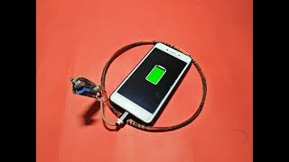 Free Energy Mobile Charging Generator 100% Real New Technology New Project