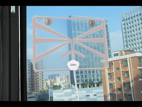 Alldio Transparent Digital TV Antenna Review (FREE TV)