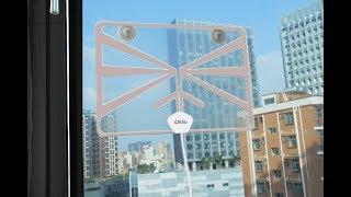 Alldio Transparent Digital TV Antenna Review (FREE TV)