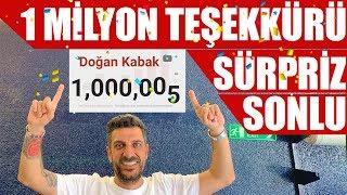 1 Milyon Özel Teşekkür Videosu | Sürpriz Sonlu