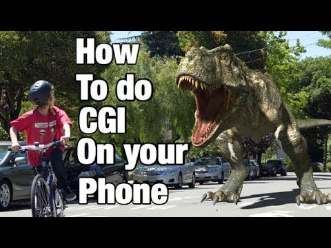 How to do CGI On Your iPhone/iPad!