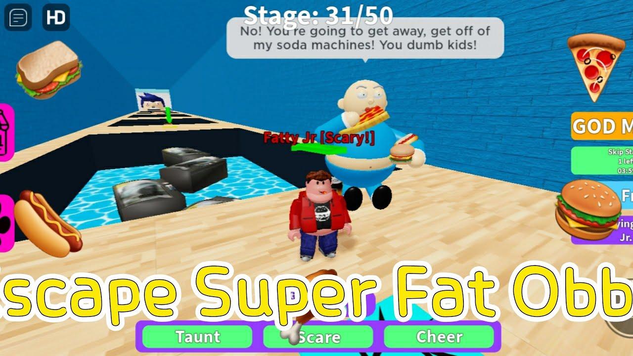 [로블록스]Escape Super Fat Obby! 슈퍼 뚱뚱 탈출 점프맵ㅋㅋ