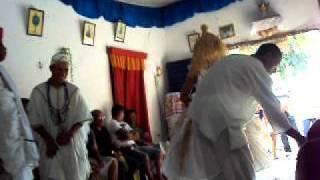 Festa de tempo muilo 28/08/2011 no terreiro de candomblé yle ase oju omi  mãe juci da bahia brasil