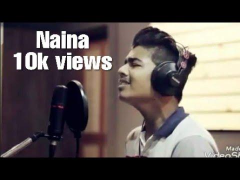 Arijit singh |NAINA| cover by | RHYTHM KUMAWAT|