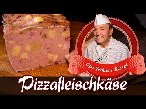 Pizzafleischkäse selber machen - Wurst selber machen - Pizza Leberkäse - Opa Jochen´s Rezept