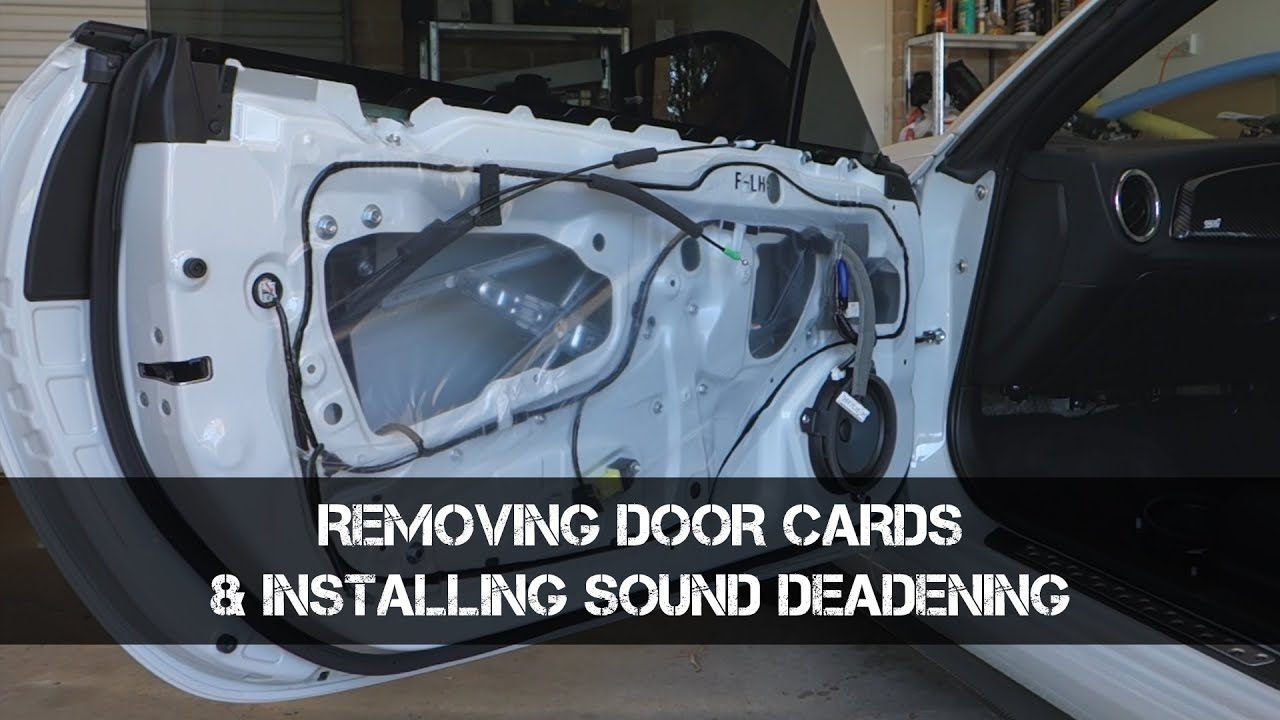 How to Remove BRZ86FRS Door Cards and installing
