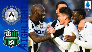 Udinese 3-0 Sassuolo | Okaka, Sema & De Paul on target in comfortable win | Serie A