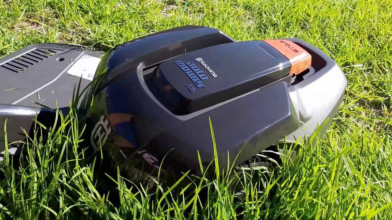 Husqvarna Automower 305 - YouTube