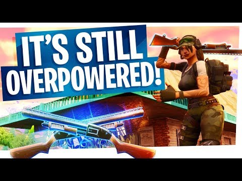 Yes I can still use Double Pump Shotguns, and yes it's still OP... - Fortnite Battle Royale Gameplay