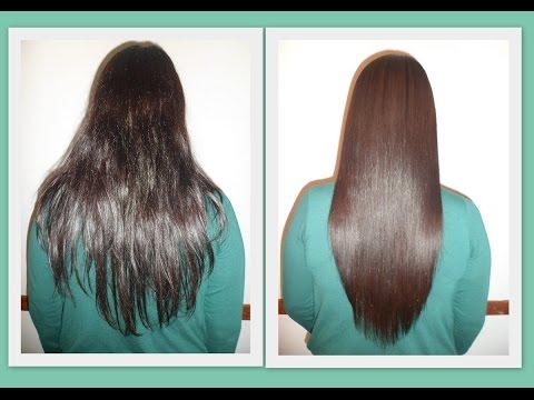 وصفة مجربة ومضمونة لتقوية وتنعيم الشعر الخشن