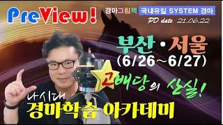 [경마방송 YB/미리보기] 6.26∼27일 서울,부산 …