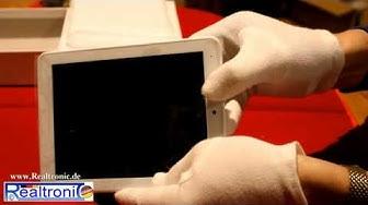Das 8 Zoll Quad Core Tablet-PC von Realtronic ! Das Real Tab ®, absolutes Preis Leistungs Wunder !