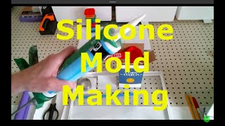 NO MESS Silicone & Cornstarch plus DIY pourable Silicone MOLD MAKING