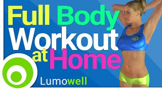 Full Body Exercises at Home: Abs, Legs, Butt, Arms, Back and Chest
