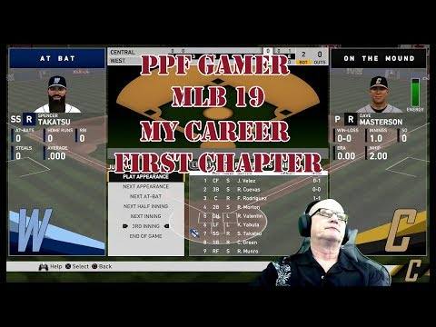 PPF Gamer Presents MLB 19my career First chapter
