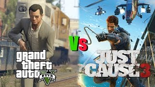 Grand Theft Auto 5 Vs Just Cause 3 Review