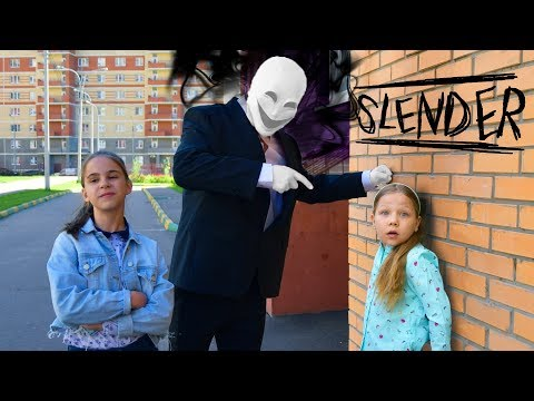 СЛЕНДЕРМЕН ЗАХВАТИЛ ШКОЛУ! ОНИ настраивают школу ПРОТИВ МЕНЯ! SLENDERMAN IN REAL LIFE