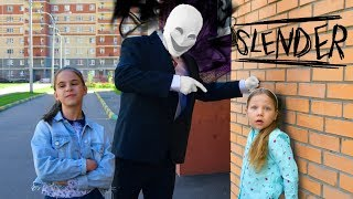 Slenderman grabbed the school! They turn the school against me! Slenderman in real life