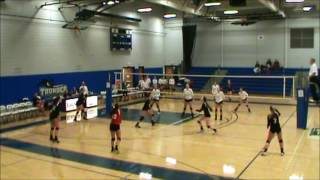 erie community college volleyball vs broome 2016