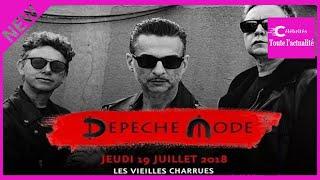 Vieilles Charrues 2018 : Depeche Mode, star de la 27e édition