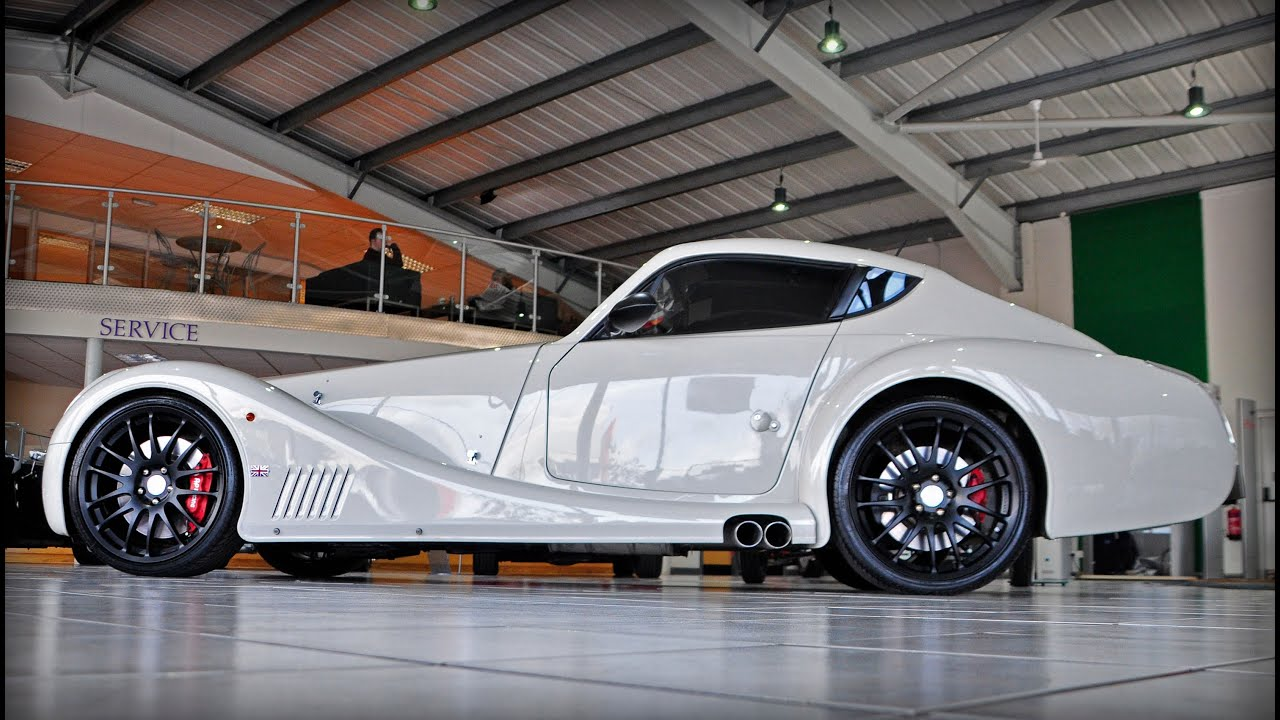 Morgan Aero Coupe - startup, rev sound + walkaround - YouTube