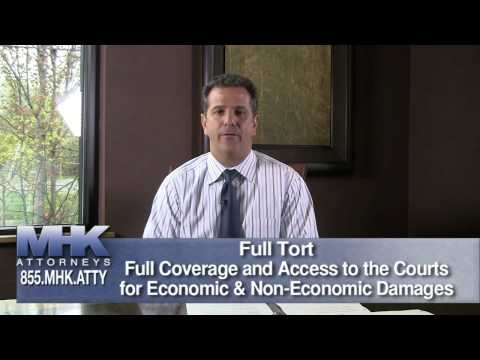 vany-Auto Accident Lawyer Stroudsburg PA - What is the Difference Between Full and Limited Tort?