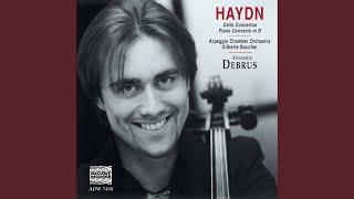 Cello Concerto in D Major, Hob. VIIb No. 2: II. Adagio (Cadence: Maurice Gendron)
