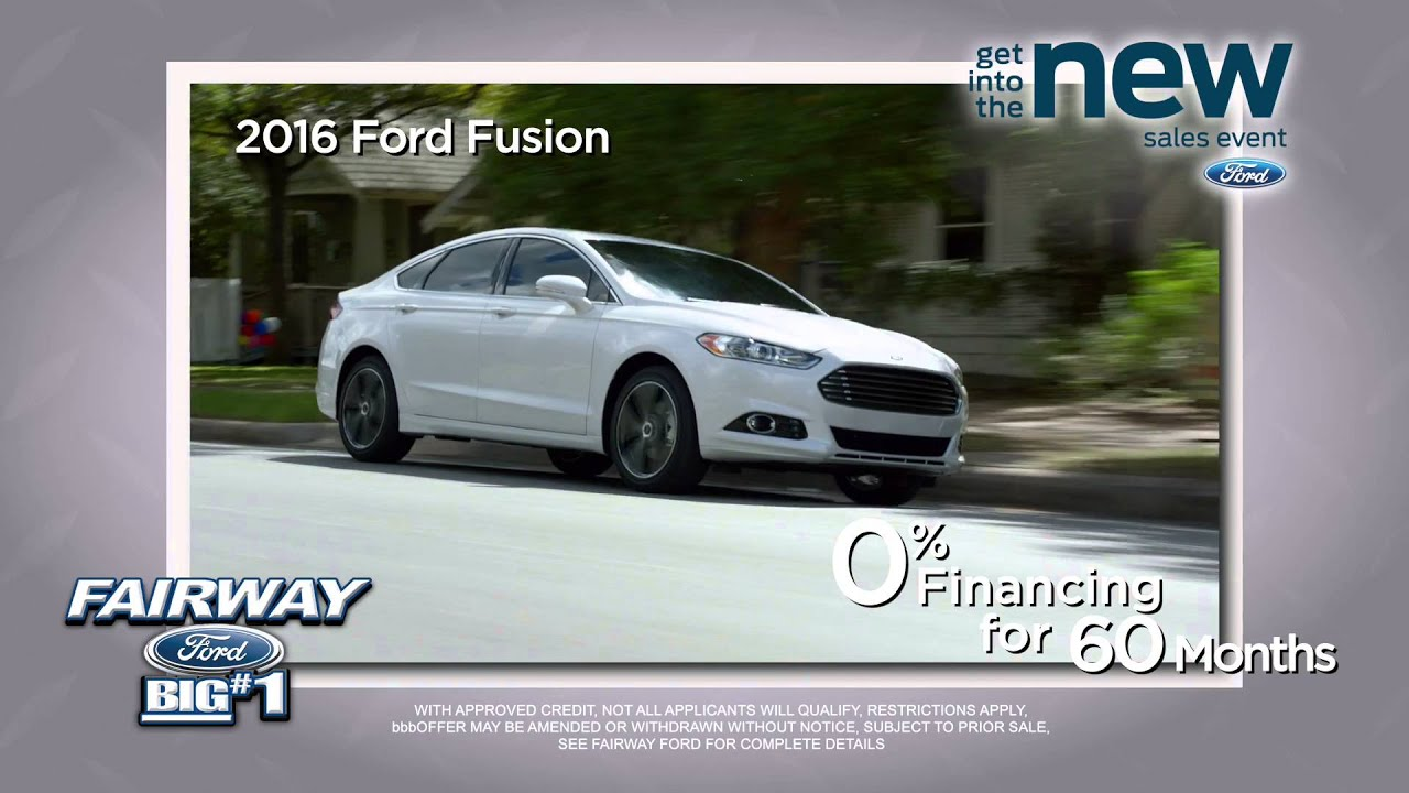 Get Into The New at Fairway Ford