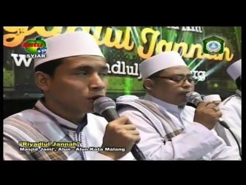 Qosidah Allah - Allahu & Syi'ir Kereto Jowo • Majlis RIYADLUL JANNAH (09 Desember 2015)