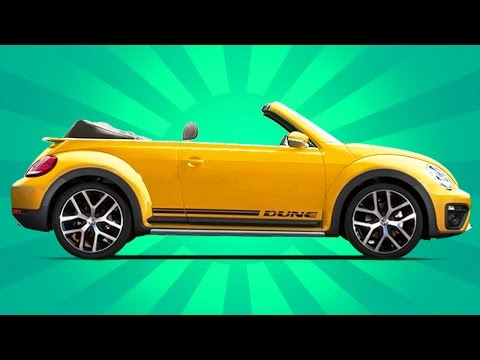 2017 Volkswagen Beetle Dune Convertible UNBOXING Review - It Could Have Been So Much Better