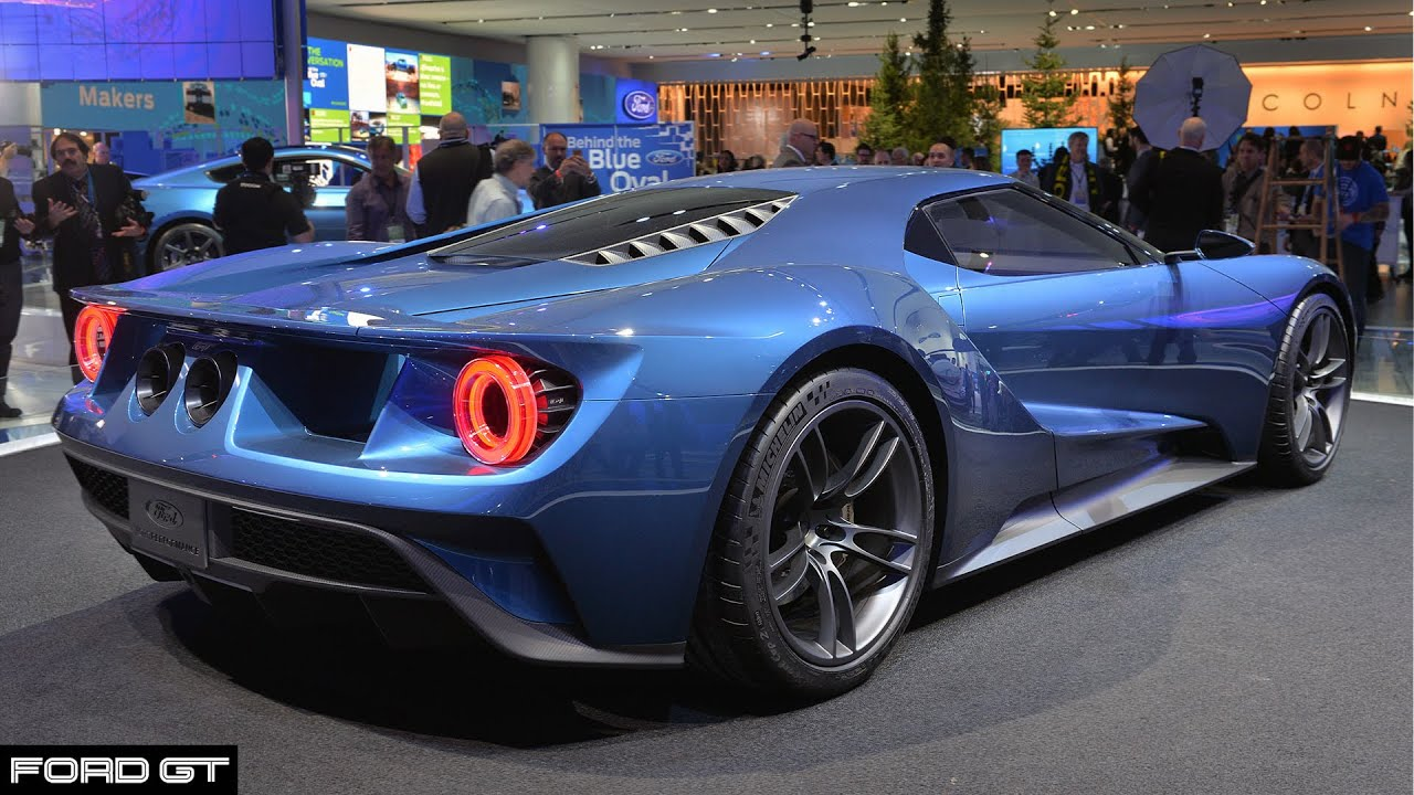 New Ford Gt Supercar Concept Youtube