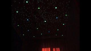 Нереально красивое небо! Натяжной потолок в детской(В этом видео Вы увидите очень красивый натяжной потолок