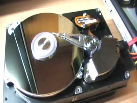 Inside HardDrive 160Gb Samsung serial ATA