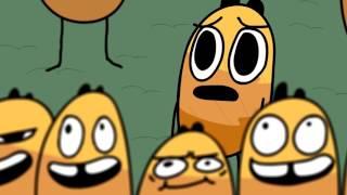 El pain AU CHOCOLAT VS CHOCOLATINE (dibujos animados)