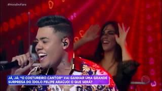 Felipe Araújo surpreende Ítalo e canta com ele no palco do Hora do Faro thumbnail