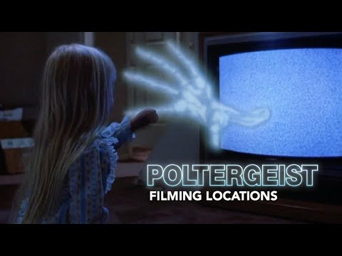Poltergeist (1982) Filming Locations - Tobe Hooper's Horror Classic - Then & Now
