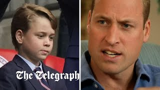 Prince George 'annoyed' rubbish keeps appearing after he goes litter picking, Prince William reveals