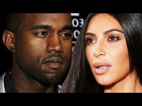 Kanye West: Paranoid & Hospitalized As Kim Kardashian Is By His Side